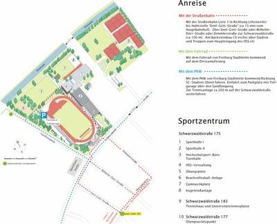 Sportinstitut mit Anreise